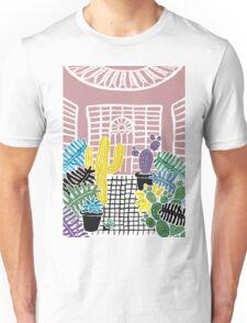 Cacti & Succulent Greenhouse Unisex T-Shirt