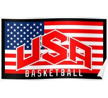 USA BASKET TEAM RIO 2016 Poster