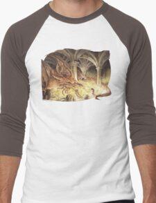 Smaug's Cave Men's Baseball ¾ T-Shirt