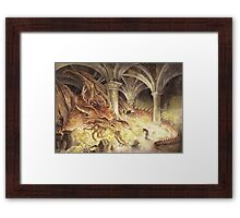 Smaug's Cave Framed Print