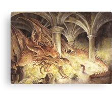 Smaug's Cave Canvas Print
