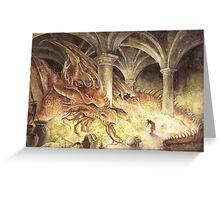 Smaug's Cave Greeting Card