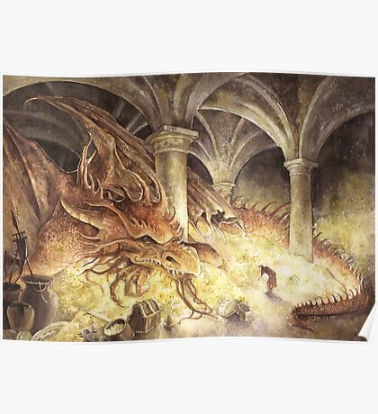 Smaug's Cave Poster