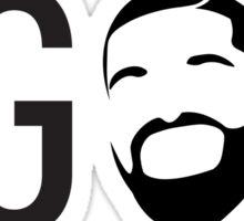 6 GOD  Sticker