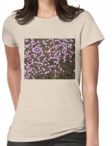 Petal drops Womens Fitted T-Shirt