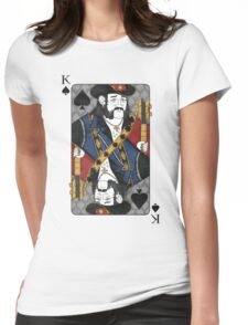 Lemmy - King of Spades - Tribute to Motorhead Womens Fitted T-Shirt