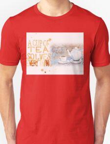 A cup of tea... Unisex T-Shirt