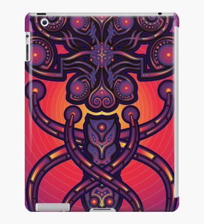 Unique abstract poster designs-Tethrapoz iPad Case/Skin