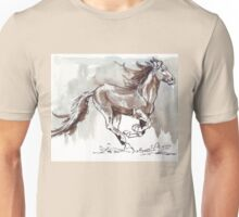 A handful of Southerly wind ... Wild horses in South Africa Unisex T-Shirt