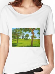 The trees in the park Women's Relaxed Fit T-Shirt
