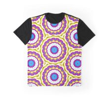 blueberry banana smoothie pattern Graphic T-Shirt