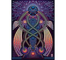 Unique abstract poster designs-Digital divinity Photographic Print