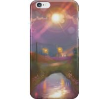sunny moon  iPhone Case/Skin
