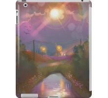 sunny moon  iPad Case/Skin