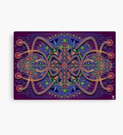 Unique abstract poster designs-Oxymoron Cascade Canvas Print