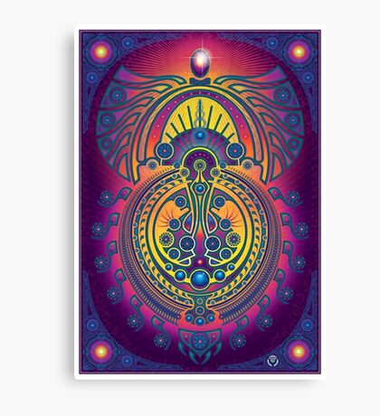 Unique abstract poster designs-Perpetual Creation Canvas Print