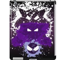 Gastly, Haunter, and Gengar Splatter iPad Case/Skin