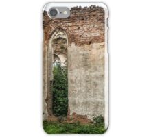 Old churches destroyed iPhone Case/Skin
