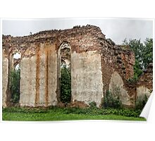 Old churches destroyed Poster