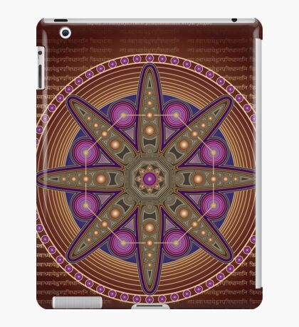 Unique abstract poster designs-Hexagon Feathers iPad Case/Skin