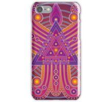 Unique abstract poster designs-Tri Petals iPhone Case/Skin