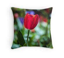 Tasmania Tulip Throw Pillow