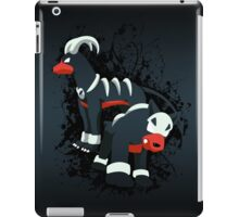 Houndour and Houndoom Splatter iPad Case/Skin