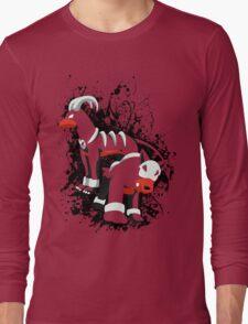 Houndour and Houndoom Splatter Long Sleeve T-Shirt