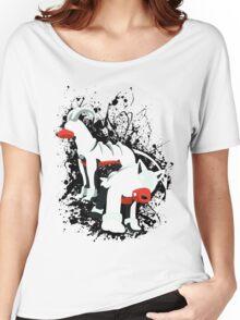 Houndour and Houndoom Splatter Women's Relaxed Fit T-Shirt