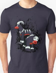 Houndour and Houndoom Splatter T-Shirt