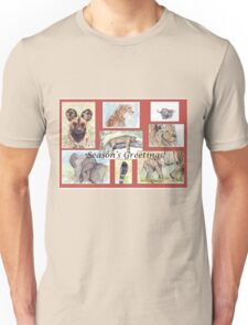 Season's Greetings from Africa Unisex T-Shirt