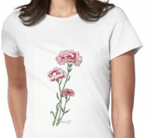 And a Pink Carnation... Womens Fitted T-Shirt