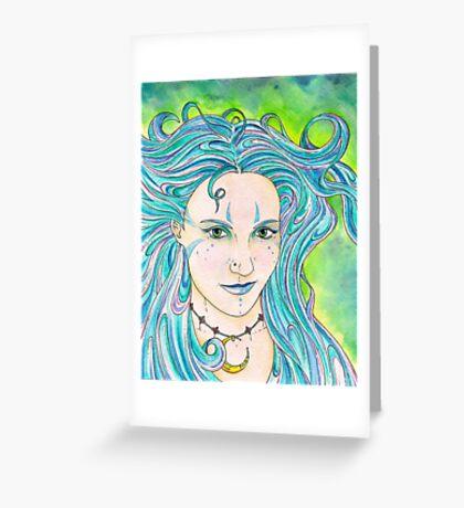 Siren Song Greeting Card
