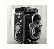 Rolleiflex, by Rolleiflex Art Print
