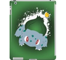 Bulbasaur Splatter iPad Case/Skin
