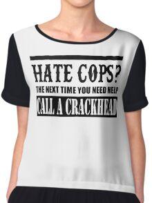 Cops? Chiffon Top