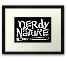 I am Nerdy Framed Print