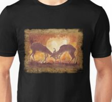 Territorial Dance in the African sunset Unisex T-Shirt