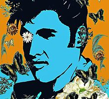 Flowers for the King of Rock and Roll by Saundra Myles