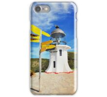 Old lighthouse in watercolor iPhone Case/Skin