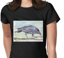 Crows are messengers - Coco Womens Fitted T-Shirt