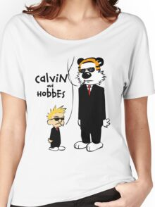 Calvin and Hobbes T-shirt  Women's Relaxed Fit T-Shirt