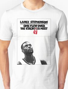 Lance Stephenson - One Flew Over the Cuckoo's Nest T-Shirt