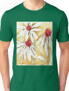 Daisies in the Rain Unisex T-Shirt