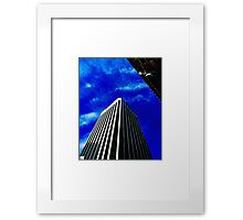 Scraping the Sky. Framed Print