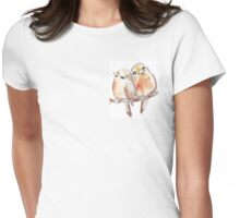 Two Little Birds 2 Womens Fitted T-Shirt