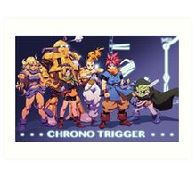 Crono Team Art Print