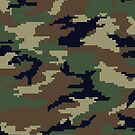 Pixel Camouflage by idaspark