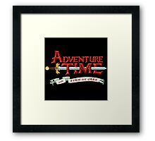 adventure time logo Framed Print