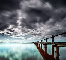 Toukley Jetty NSW Australia by Beth  Wode